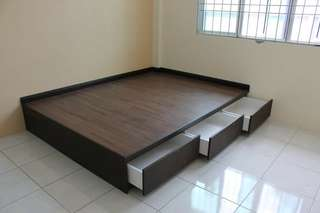 Bed Box With Drawer