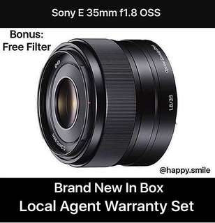 On Sales Now ! Sony 35mm f1.8 OSS