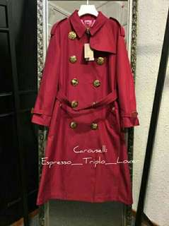 B.U.R.B.E.R.R.Y Winter/Autumn Long Trench Coat