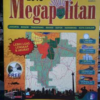 Megapolitan Map and Street Guide