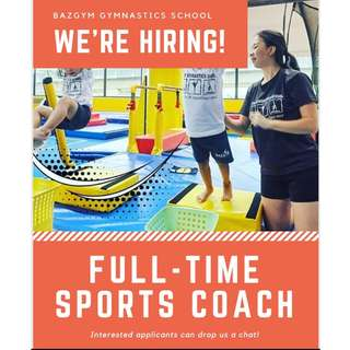 Full Time Sports Coach