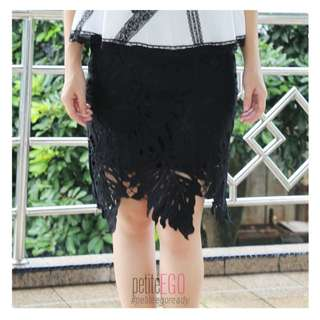 Pencil skirt brukat / lace import korea