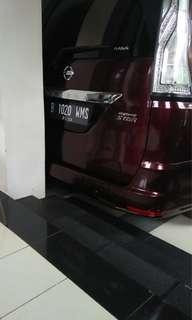 Dijual cepat Nissan Serena thn 2014
