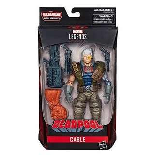 是日精選 Cable Marvel Legends Deadpool 6 inch Action Figure