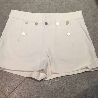 🌈Zara white shorts