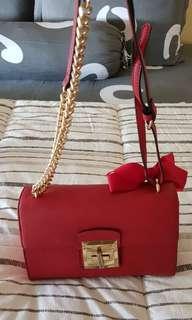 ALDO RED BAG