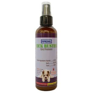 Tick Buster Anti Tick Fipronil Spray Treatment 100 mL