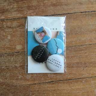 Authentic The Maine Pins/Badges