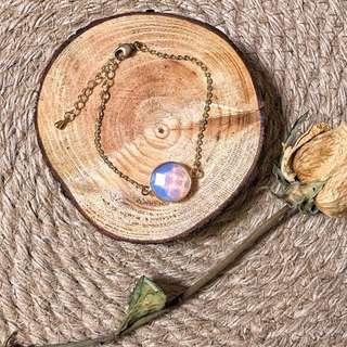 🚚 Opal Bracelet頂級歐泊蛋白石純銅手鍊