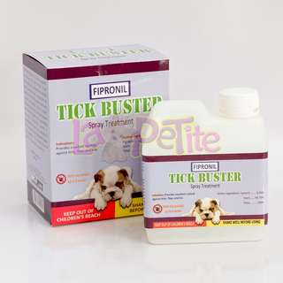 Tick Buster Anti Tick Fipronil Spray Treatment 500 mL