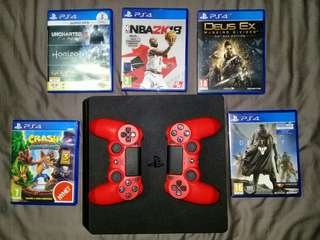 Ps4 slim 500 gb (console) USED