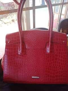 Authentic Fino croc Red Bag