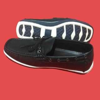 SALE Black Casual Leather Shoes