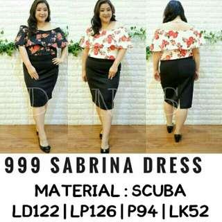 Jumbo 999 Sabrina Dress