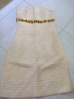 dress sifon BCBG replika