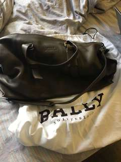 Bally duffel bag
