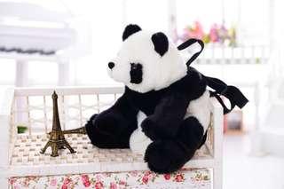 Panda bag travel zoo park