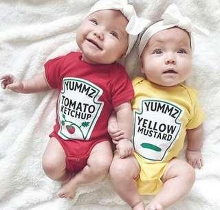 """🚚 """"I love Heinz"""" bodysuit"""