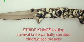 STRIDE FOLDING KNIFE