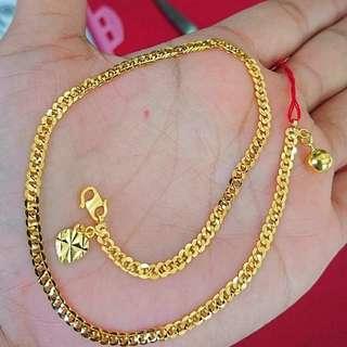Anklet Gold 916
