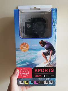 Outdoor Waterproof Sport Cam
