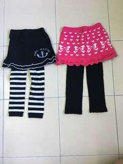 Girls Pants (set of 2)
