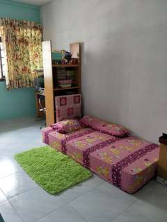 Single Bed room for rent $600