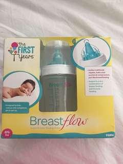 Brand new milk bottle
