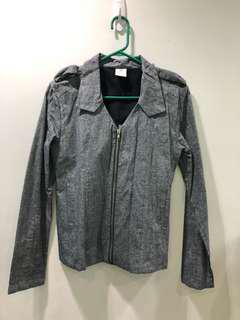 oxygen grey jacket