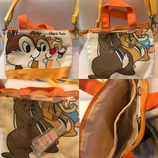 店主日本🇯🇵買回來只有一個Chip n Dale 包包