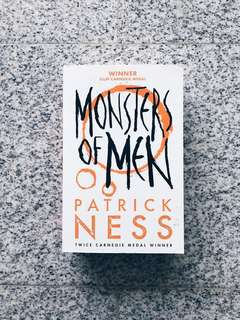 🍒 monsters of men - patrick ness [brand new paperback]