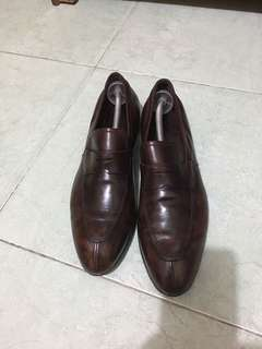 Prada Brown Lofers Authentic Size 9