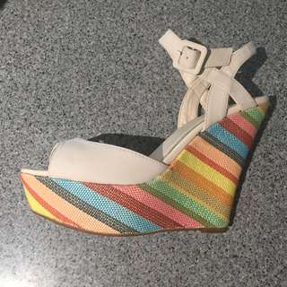 Betts Wedge Summer Heel - Size 9