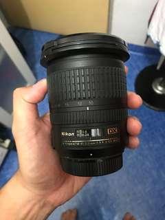 Lens Nikon 12-24 F3.5-4.5