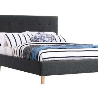 Brand New Fabric Double Size Bed Frame