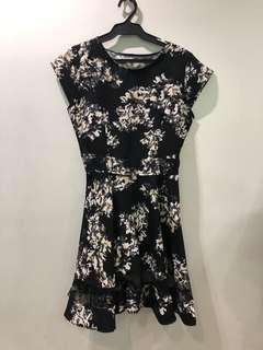 black floral dress new