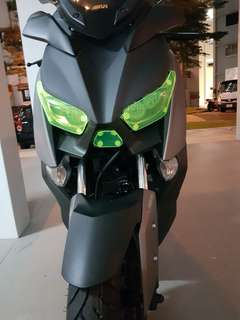 XMAX headlight protector