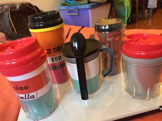 All 5 tumblers for 75rb