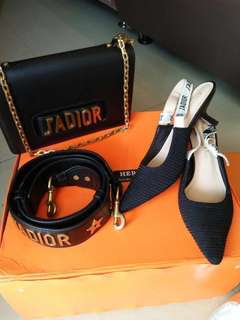 J'ADIOR BAG & BELT BAG FREE SHOES JADIOR