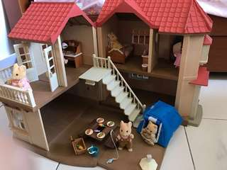 Sylvanian Families City House with Light