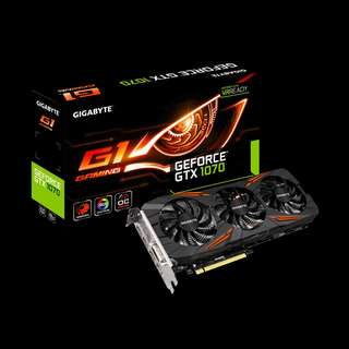 GIGABYTE GTX 1070 G1 GAMING (W BOX)