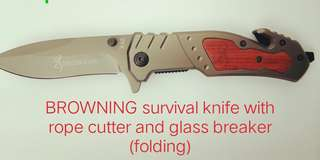 BROWNING SURVIVAL KNIFE