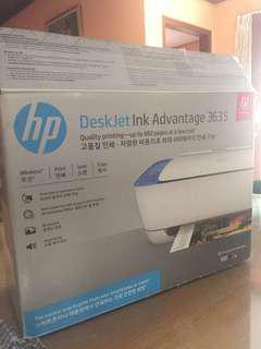 Printer deskjet ink advantage 3635