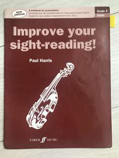 Improve your sight reading Grade 5 violin