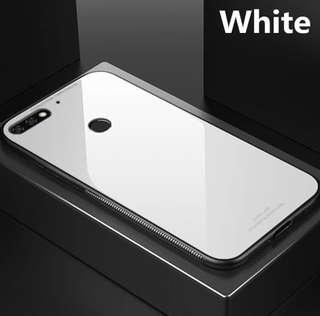 Huawei Nova 2 Lite Tempered Glass Case Plain Colors