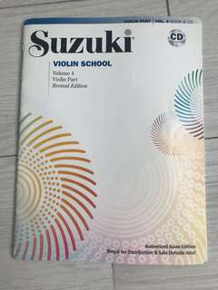 Suzuki Violin School Volume 4