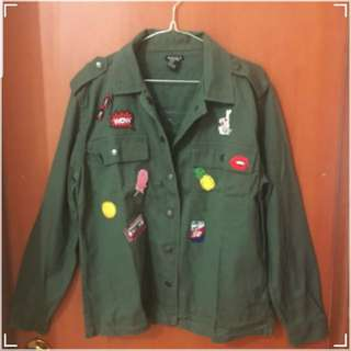 Forever 21 Green Outer