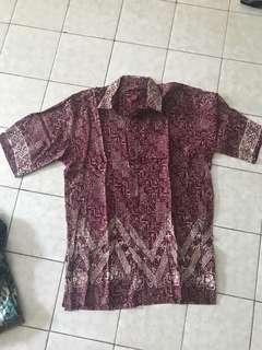 Kemeja batik ( pria )