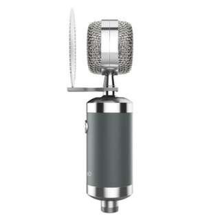 專業歌手網紅 KOL直播錄音新一代振膜電容麥克風 - 森然播聲 BOAUDIO