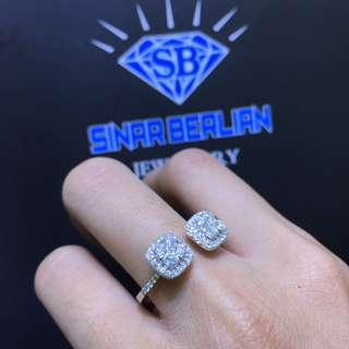Cincin berlian model